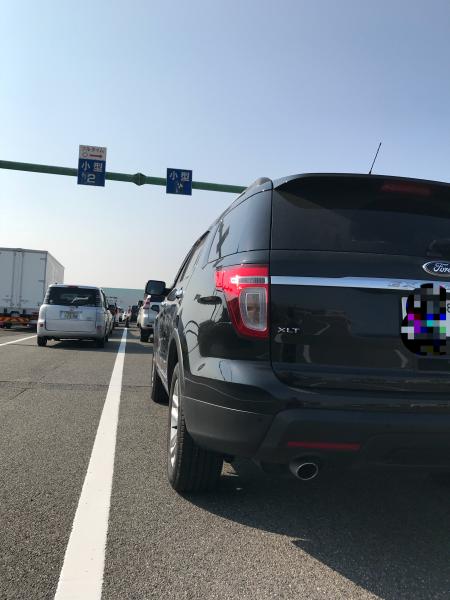 フォード  エクスプローラ車検!