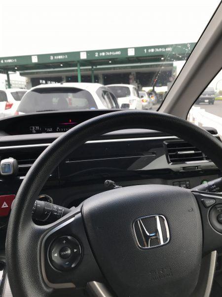 RP1ステップワゴン車検!