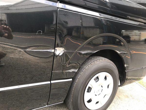 200系ハイエース 鈑金修理