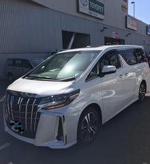本日の新車アルファード納車!!